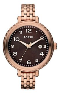 Fossil Bridgette Round Dial Bracelet Watch