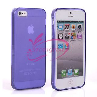 For Apple iPhone 5 5g Fashion Color Thin Hard Back Skin Case Cover