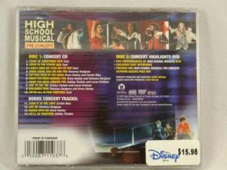 Disney High School Musical CD The Concert Soundtrack
