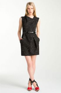 3.1 Phillip Lim Belted Tweed Dress