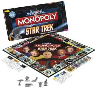 SEALED Monopoly Star Trek Continuum Edition Board Game
