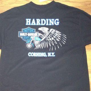 Harley Davidson T Shirt Size XXL Black