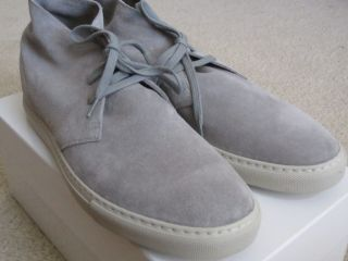 New Common Projects Chukka Boot Light Grey Suede 43 EU