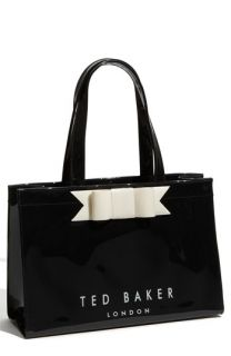 Ted Baker London Bow Ikon Patent Tote