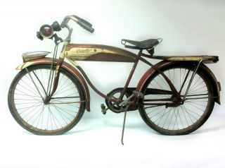 1952 Vintage Columbia Built Five Star Superb Bicycle 75th