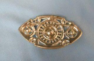 Nice Cluster Rhinestone Brooch Pin Costume Jewelry