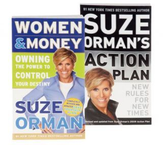 Suze Orman Women & Money & Action Plan Book Set —