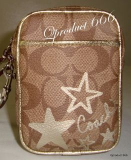 Coach Cell Phone Case Bag Purse Wallet Jewely Camera iPod iPhone Pouch