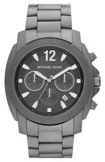 Michael Kors Grayson Titanium Chronograph Bracelet Watch
