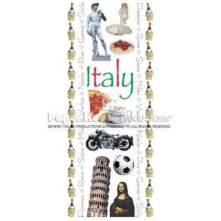 Paper House Travel Italy Vacation Scrapbook Stickers