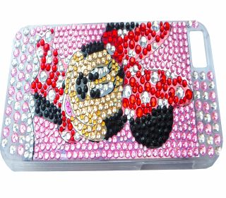 For Apple iPhone 5 Minnie Mouse Disney Bling Rhinestone Diamante Case