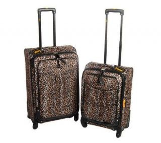 Lucas 26 and 20 Expandable Spinner Luggage Set with Tote —