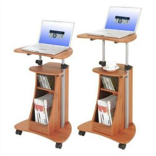 Laptop Cart Table Desk Podium Woograin Color