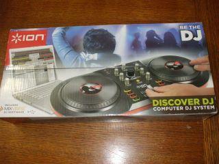 DJ SYSTEM ION DISCOVER COMPUTER DJ SYSTEM INCLUDES MIX VIVES DJ
