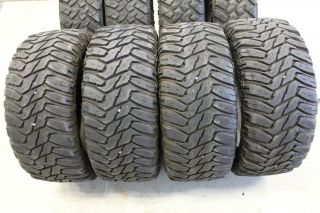 33 12 50 20 Cooper STT Mud Tires Used TEK3 Discoverer 10 Ply Load