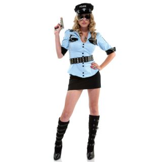 Corrections Officer Costume Dreamgirl 3759 s,m,l