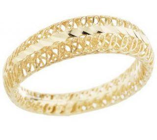 Adi Paz Open Filigree Diamond Cut Band Ring, 14K —