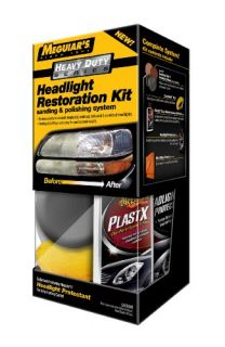Complete Auto Two Step Headlight Lens Restoration Meguiar Lamp Care