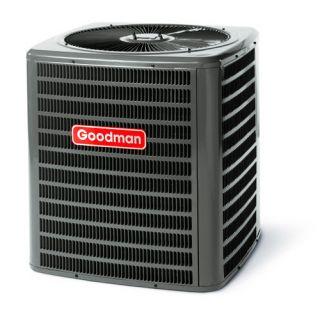 Goodman 13 SEER Condenser Air Conditioner 1 5 Ton Nitrogen Charged R22