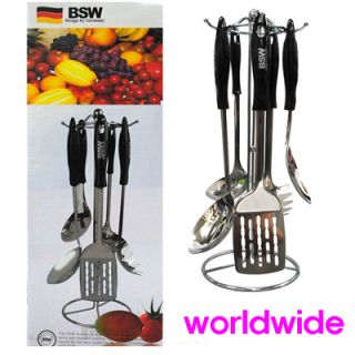 kitchen tool set 6pcs Stainless Steel Cooking Utensils Chef housewife