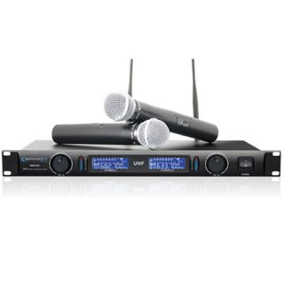 Technical Pro WM1201 Wireless Microphone System VHF w Two Mics