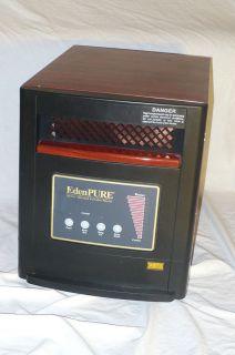 EdenPure GEN4 Space Heater Cooler for parts repair Eden Pure