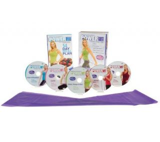 Stephanie Huckabees PowerFit Total Body 5 DVD Workout —