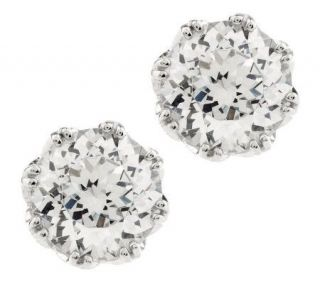Tacori IV Diamonique Epiphany Bloom Cut 2.35 ct tw Round Studs