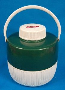 VINTAGE COLEMAN SNOW LITE WATER JUG COOLER 1 GALLON W/ CUP INSERT