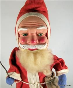 vintage german paper mache santa belsnickle 14