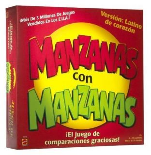 Manzanas con Manzanas version Latino de corazon Apples to Apples NEW