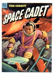 THIS IS TOM CORBET, SPACE CADET #8 (DELL 1954) VF+ @ $100, HAS NICE