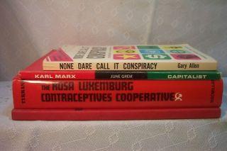 Rosa Luxemburg CONTRACEPTIVES Communism Karl Marx Books