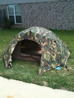 Used Eureka Combat Tent ... & EUREKA COMBAT TENT RAIN FLY ICS TCOP WOODLAND Military Tent