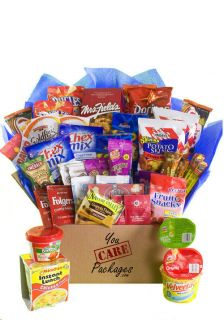 Snack Care Package Food Gift Basket 43 Items College Students