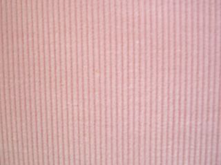 30 Small Wale Pink Cotton Corduroy Fabric 45 Wide