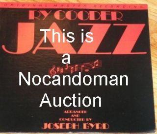 RARE Ry Cooder MFSL Jazz Mobile Fidelity Joseph Byrd