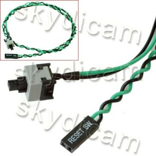 PC Desktop Reset Power Supply Switch Cable Connector PP