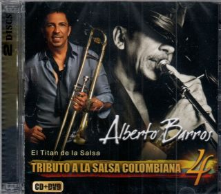 Alberto Barros Tributo A La Salsa Colombiana Vol 4 Brand New SEALED CD