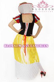 8408 Snow White Queen Fancy Dress Plus Costume 16 18