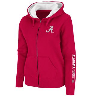 Alabama Crimson Tide Womens Titan Full Zip Hoodie Crimson COFF3525