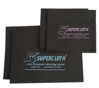 SuperCloth 4 Piece Multi Purpose Cleaning Cloths —