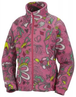 Little Girls Columbia Benton Springs Printed Fleece Jacket Kids