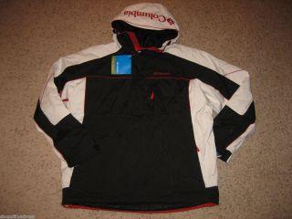 Columbia Mens Antler Falls Winter Pullover Jacket Coat Snowboard Ski