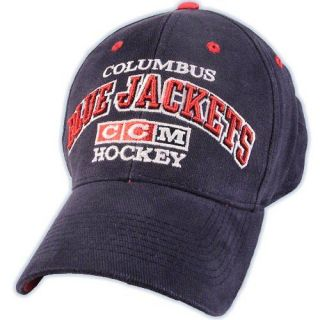 CCM SR Columbus Blue Jackets Hockey Hat MSRP $22 99