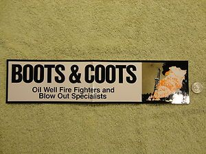 Stickers Hard Hat Decals Boots and Coots Wild Well Control Ect
