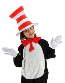 Dr Seuss Cat in The Hat Costume Accessory Kit Child New