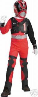 Deluxe SPD Red Power Ranger Costume 7 8 NIP