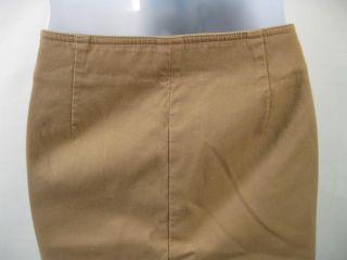 ELLEN TRACY Tan Cotten Dress Pants Slacks Sz 12