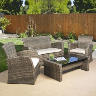 Seating Set Indoor Outdoor Patio Lawn and Garden Furniture Set